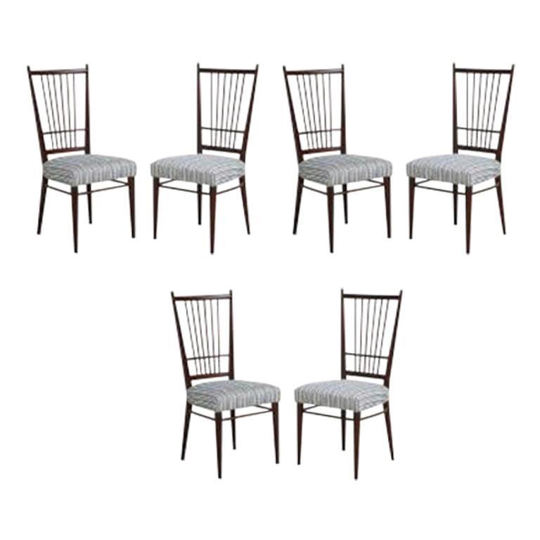 Osvaldo Borsani Dining Chairs