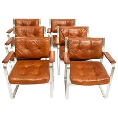 "Set of 6 ""Mondo"" Chairs by Karl Erik Ekselius for Joc Vetlanda, 1970s"