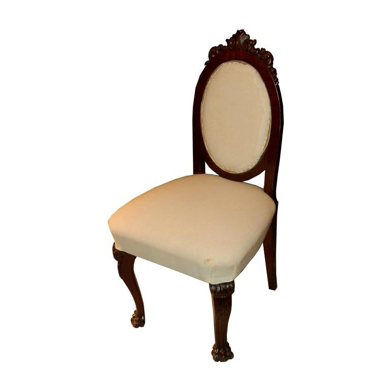 Set Of 6 Neo Renaissance Oak Chairs For Sale At 1stdibs
