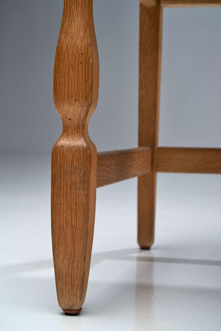 Set of 6 Razorblade Dining Chairs by Henning Kjaernulf, Denmark, 1960s For Sale 5