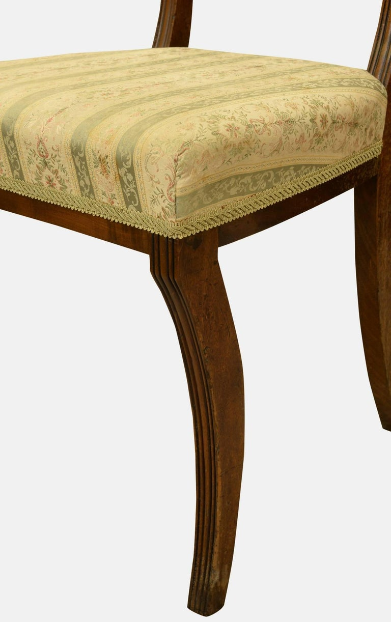 Set of 6 Regency Period Dining Chairs For Sale 1