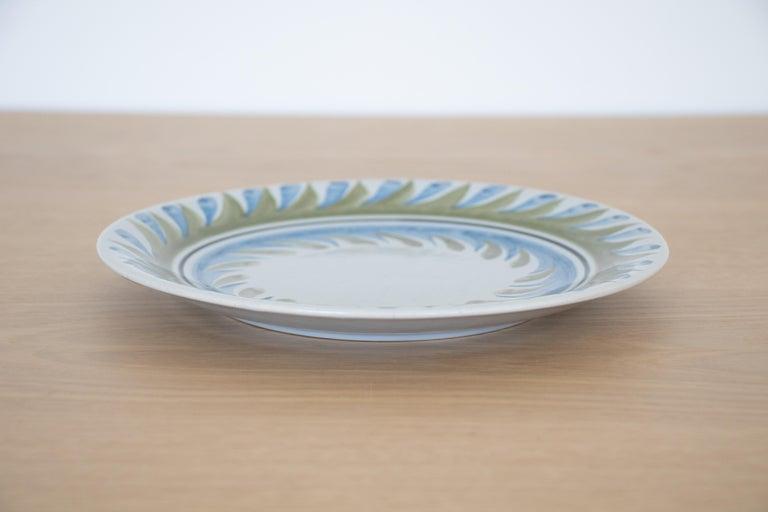 Ceramic Set of 6 Roger Capron Painted Plates