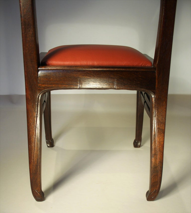 Set of 6 Rosewood Chairs from Richard Riemerschmid For Sale 2