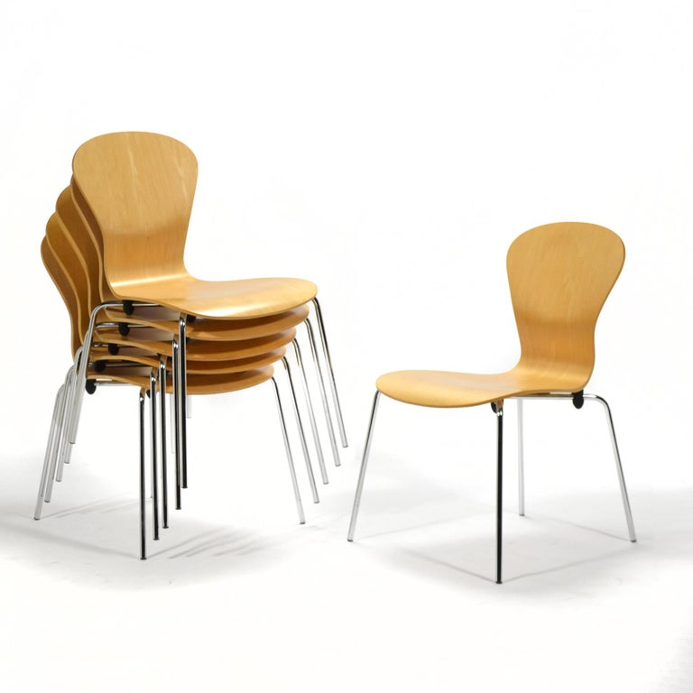 "Modern Set of 6 Ross Lovegrove ""Sprite"" Chairs For Sale"