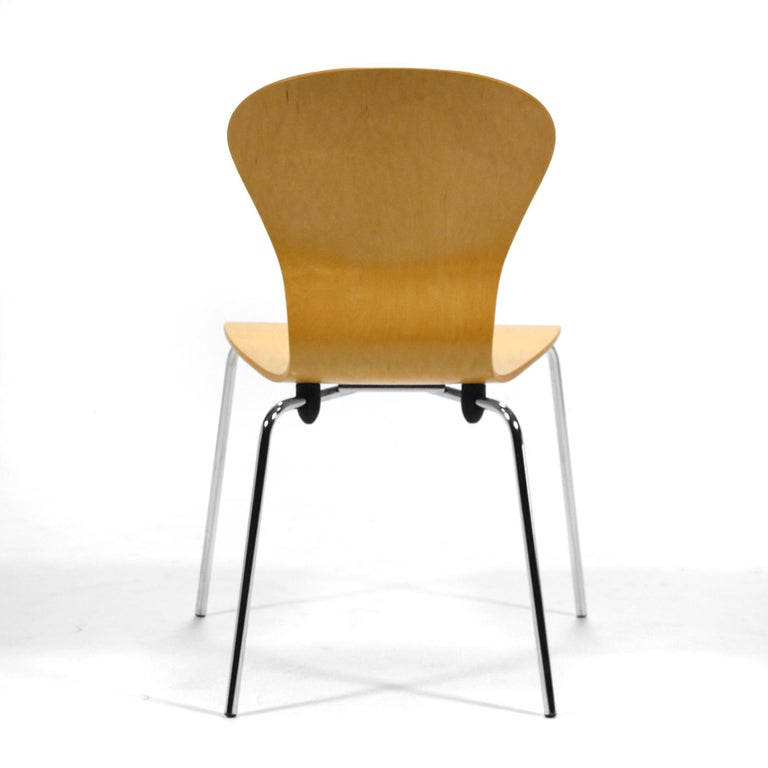 "Steel Set of 6 Ross Lovegrove ""Sprite"" Chairs For Sale"