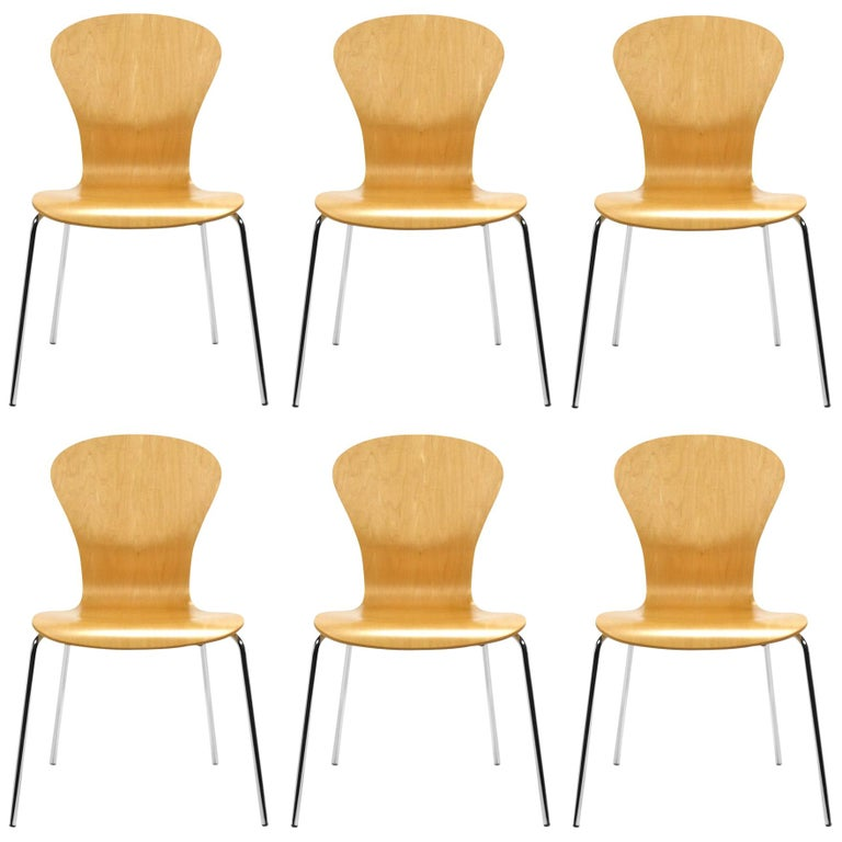 "Set of 6 Ross Lovegrove ""Sprite"" Chairs For Sale"