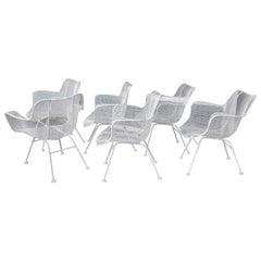"""Set of 6 Russell Woodard """"Sculptura"""" Armchairs"""