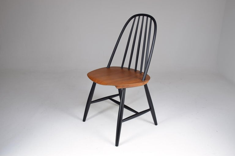 Mid-Century Modern Set of 6 Scandinavian Midcentury Dining Chairs by Hagafors, 1960s For Sale
