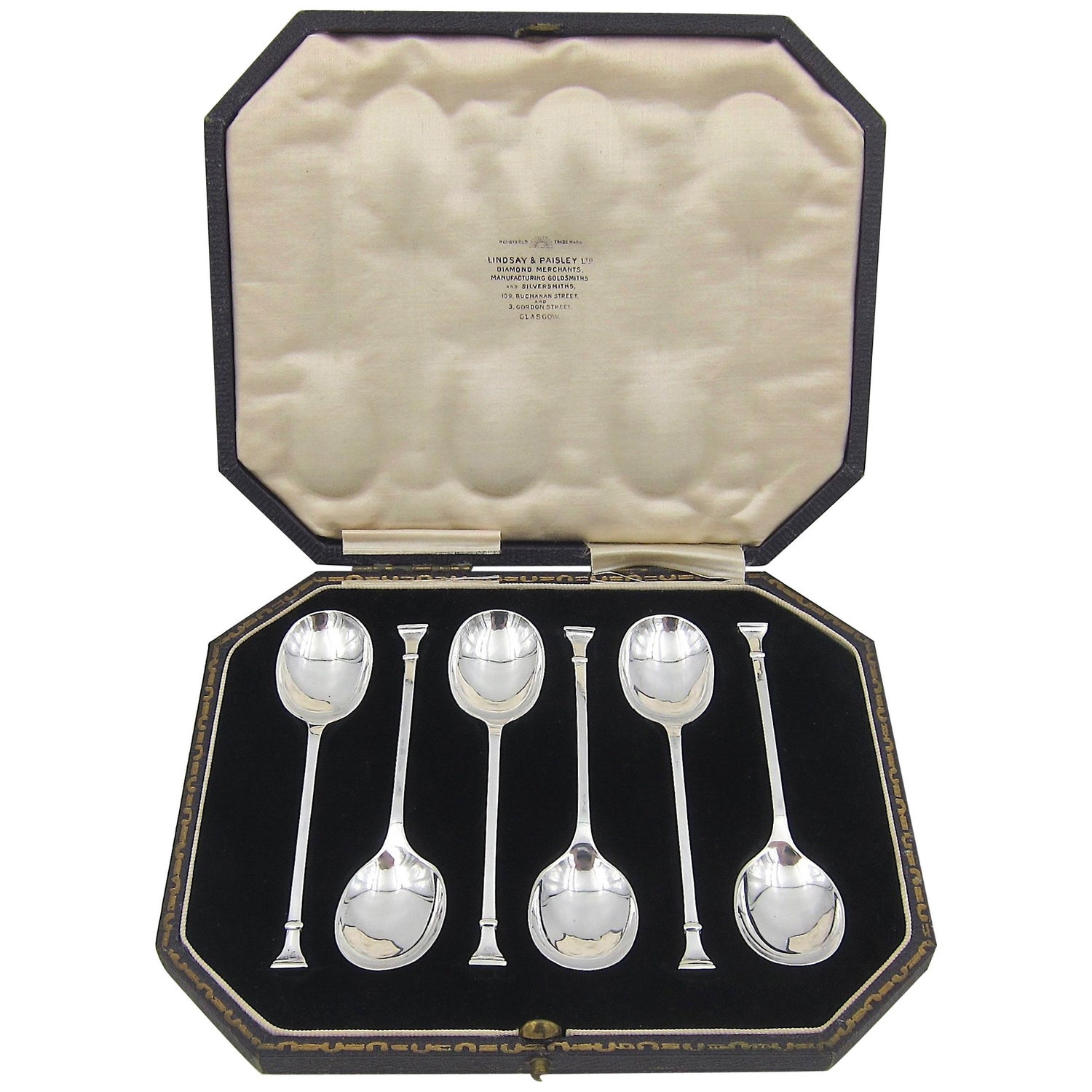 Sheffield Hand Etched Berry SpoonsVictorian Gilded Berry SpoonsChased Serving Spoons 1905Antique Serving Spoons Walker /& Hall c