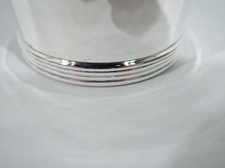 Set of 6 Stieff American Sterling Silver Mint Julep Cups For Sale 1