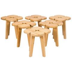 Set of 6 Stools by Lisa Johansson-Pape