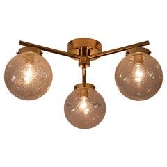 Set of 6 Swedish Ceiling Lamps, 1970s