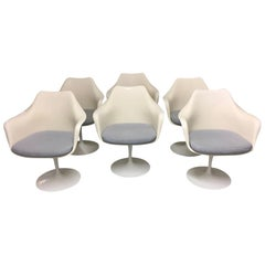 Swiveling Tulip Armchairs by Eero Saarinen for Knoll International