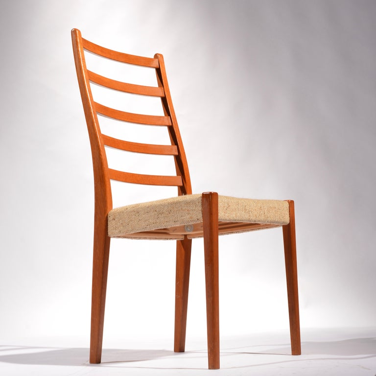 American 6 Teak Dining Chairs by Svegards Markaryd, Sweden For Sale