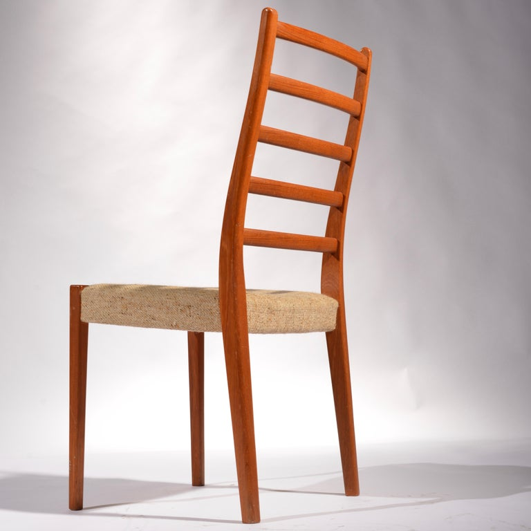 Mid-20th Century 6 Teak Dining Chairs by Svegards Markaryd, Sweden For Sale