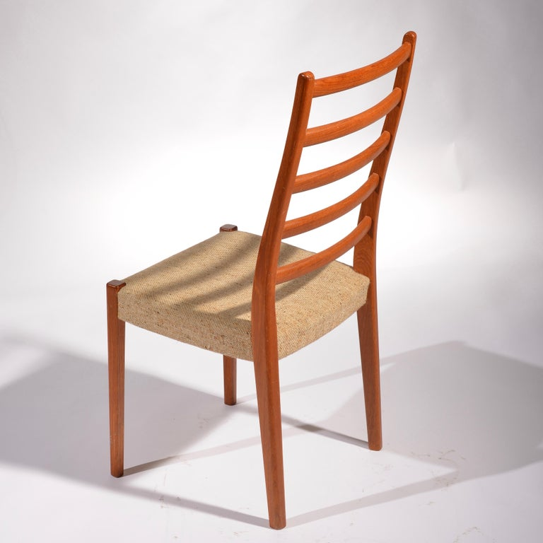 6 Teak Dining Chairs by Svegards Markaryd, Sweden For Sale 1
