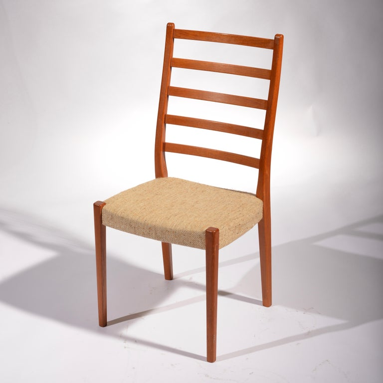 6 Teak Dining Chairs by Svegards Markaryd, Sweden For Sale 2