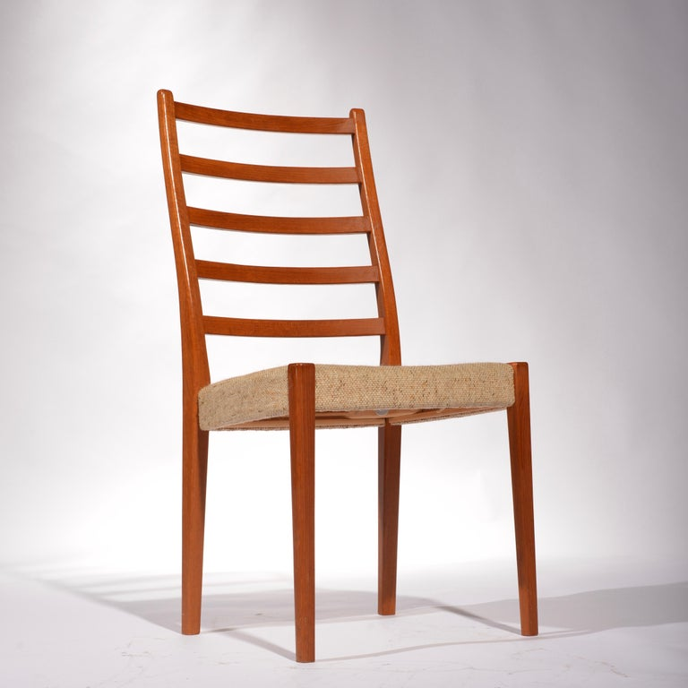 6 Teak Dining Chairs by Svegards Markaryd, Sweden For Sale 3