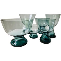 Set of 6 Vases by Wilhelm Wagenfeld for WMF