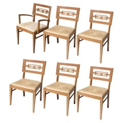 Set of 6 Vintage Chin Hua Drexel Heritage Dining Chairs