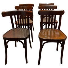 Set of 6 Vintage Dining Chairs