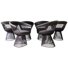 Set of 6 Warren Platner Dining Chairs