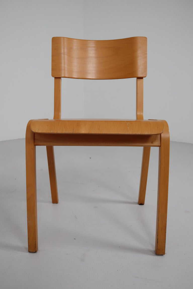 20th Century Set of 60 Scandinavian Modern Chairs Made from Bentwood and Plywood 1960s  For Sale