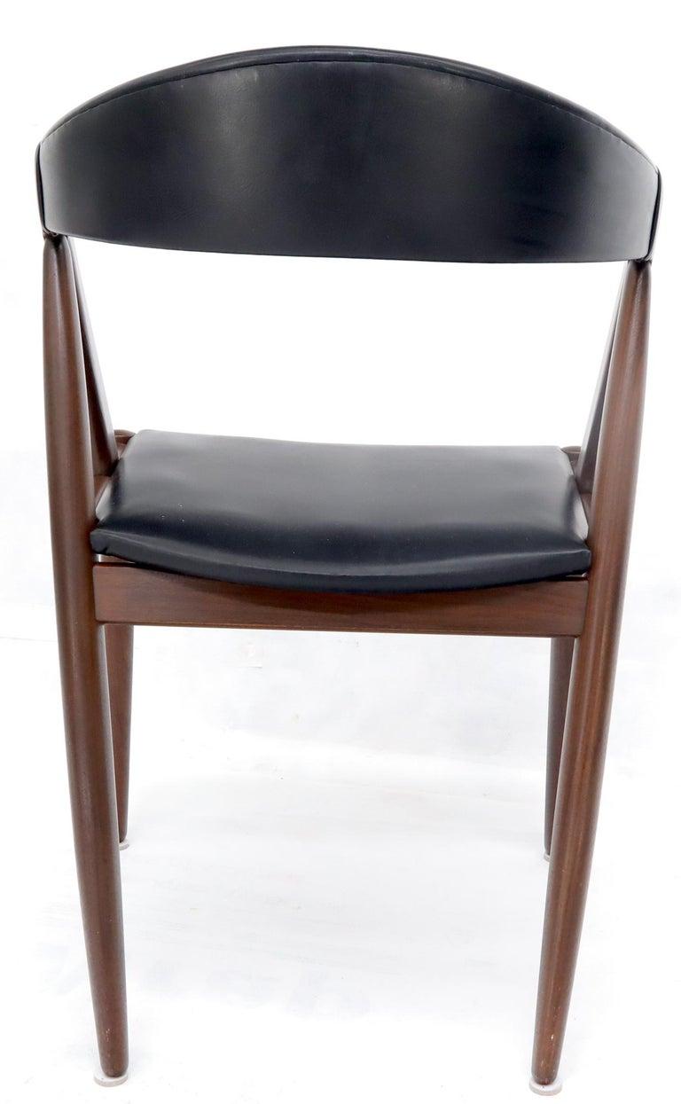 Set of 7 Danish Modern Kai Kristiansen Teak Dining Chairs  For Sale 6