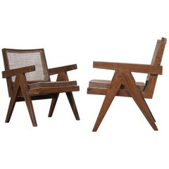 Set of 7 Differents chairs from Pierre Jeanneret