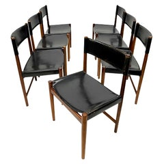 Set of 7 Dining Chairs Designed by Kurt Østervig for Sibast, 1960s
