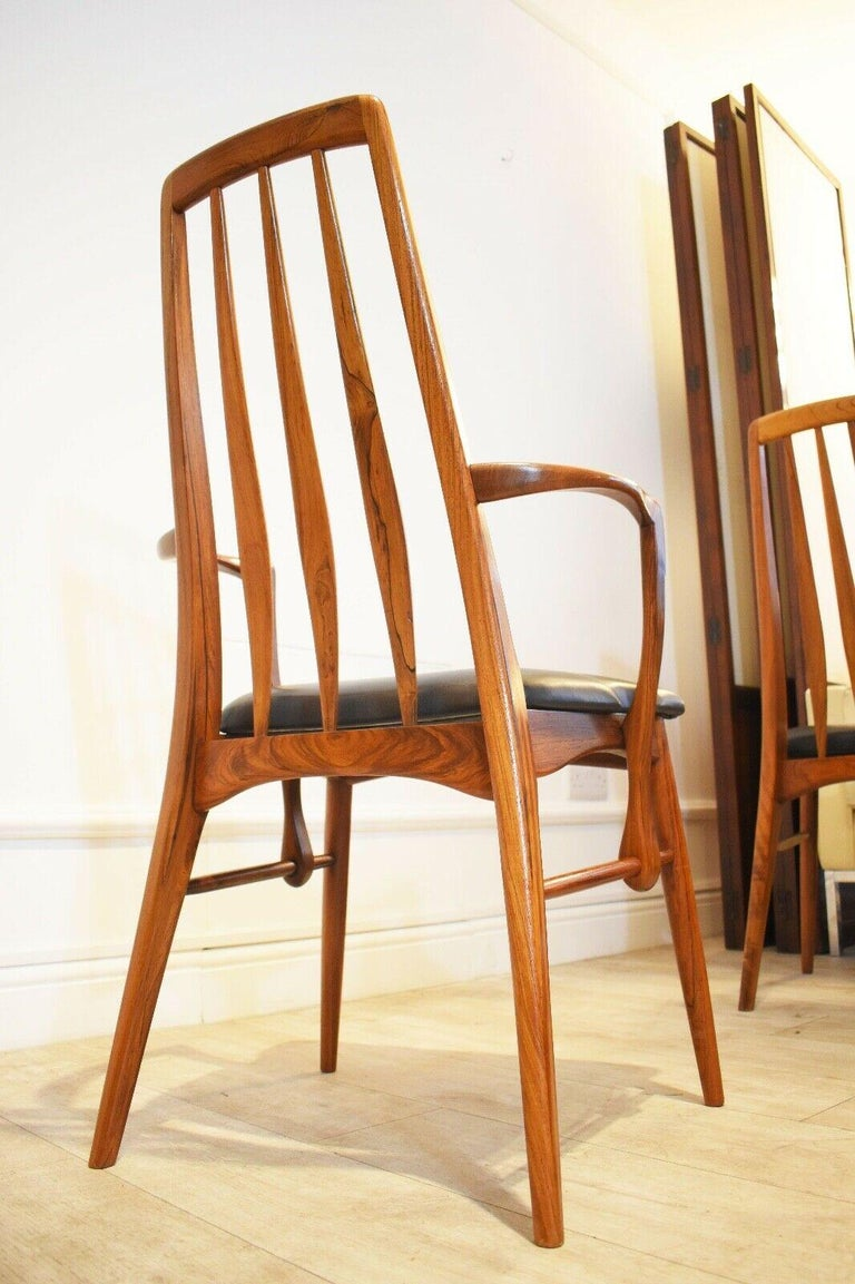 Set of 8 1960s Rosewood