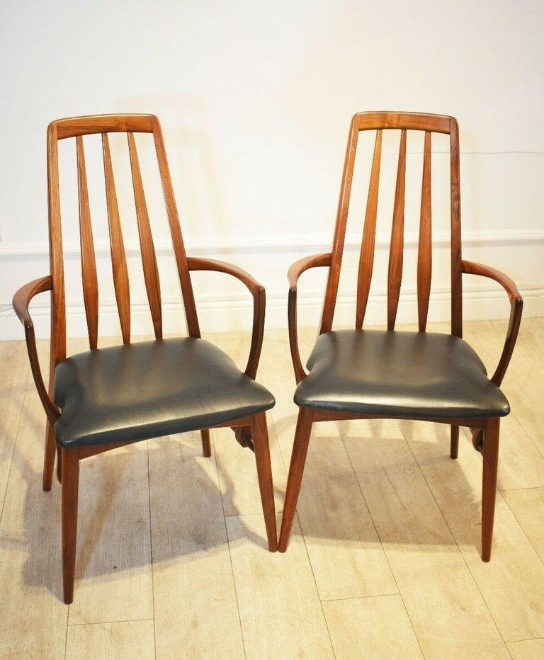 20th Century Set of 8 1960s Rosewood