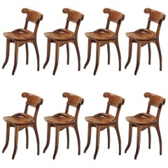 Set of 8 Batllo Chairs Gaudi