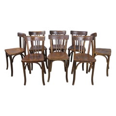 Set of 8 Baumann Bentwood Bistro Chairs