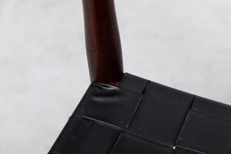 Set of 8 Børge Mogensen Style Danish Teak Dining Chairs For Sale 4