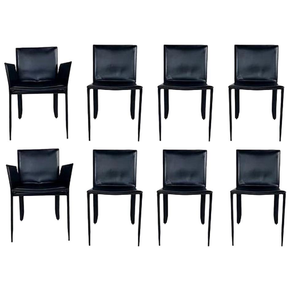 "Set of 8 Cattelan Italia ""Piuma"" Chairs"