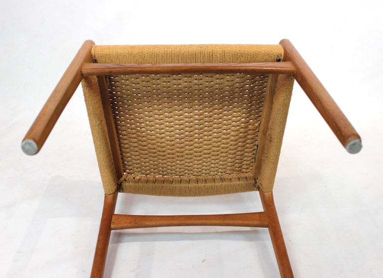 Set of 8 CH23 dining chairs by Hans Wegner and Carl Hansen & Son, 1950s For Sale 3