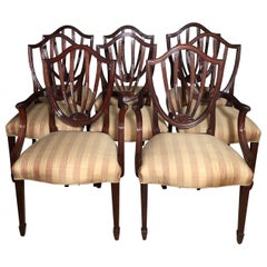 Set of 8 Chairs by Baker Historic Charleston Collection