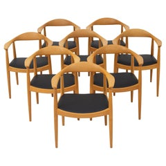 Set of 8 Chairs by Hans J. Wegner