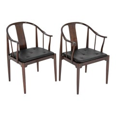 "Set of 8 ""China Chairs"" for Fritz Hansen by Hans Wegner"
