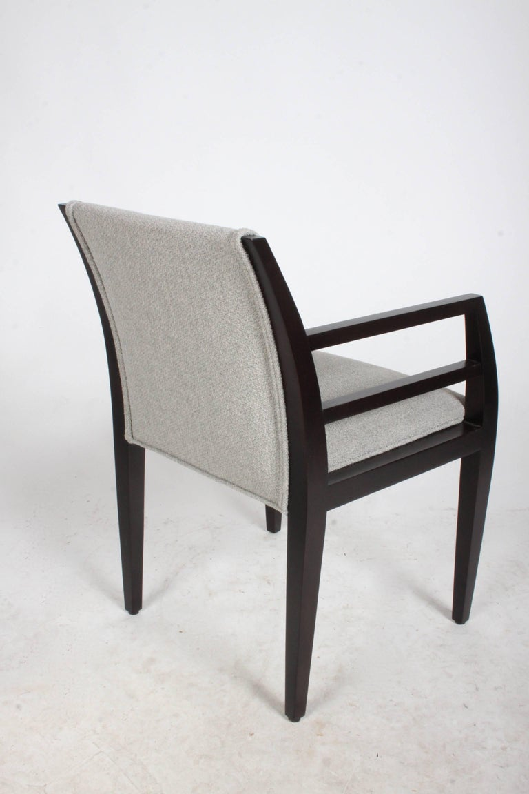 Stained Set of Eight Constantin Boym Arbat Dining Chairs For Sale
