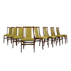 Set of 8 Danish Modern Dining Chair