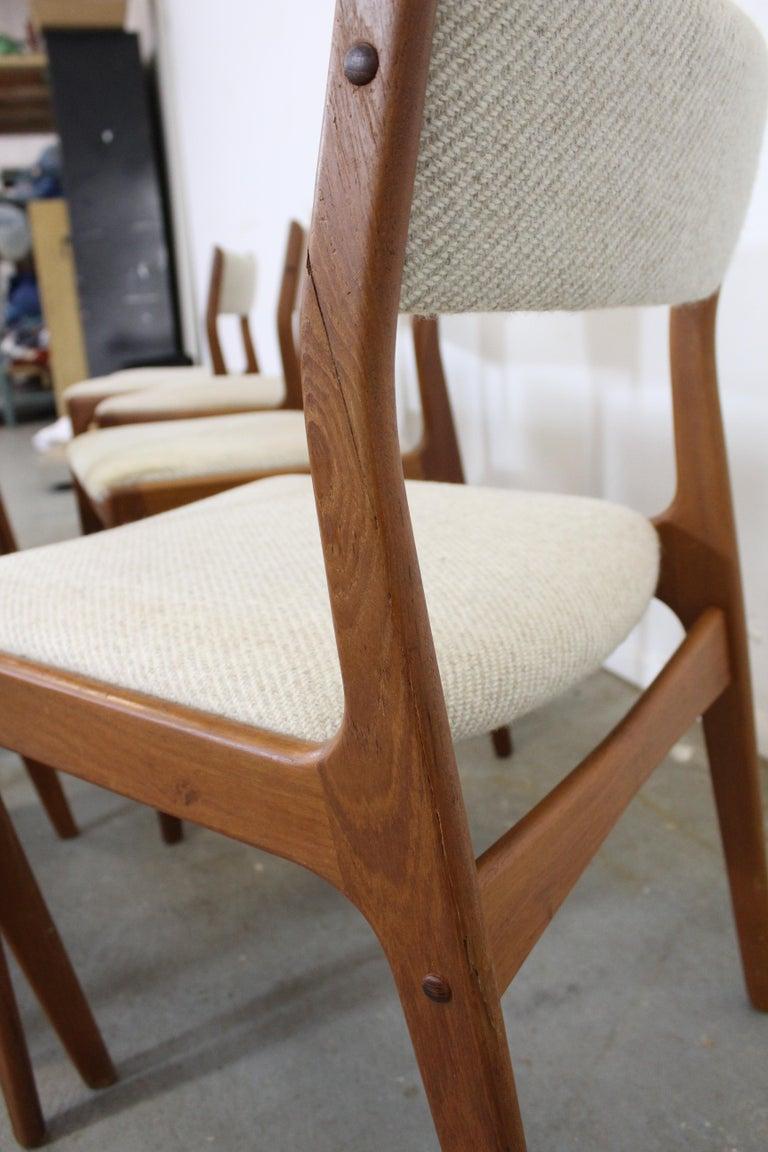 Set of 8 Danish Modern Johannes Andersen Uldum Mobelfrabrik Teak Dining Chairs 3