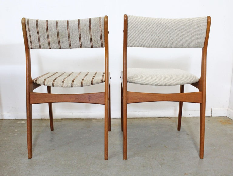 American Set of 8 Danish Modern Johannes Andersen Uldum Mobelfrabrik Teak Dining Chairs