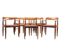 Set of 8 Dining Chairs by Bramin