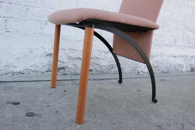 Set of 8 Dining Chairs by Castelijn In Good Condition For Sale In Los Angeles, CA
