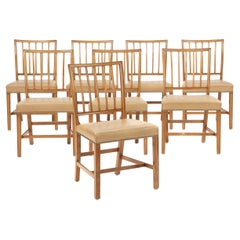 Set of 8 Dining Chairs by Jacob Kjær