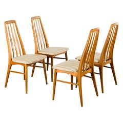 Set of 8 Dining Chairs by Niels Koefoed