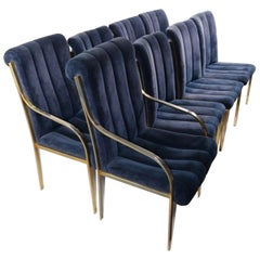 Set of 8 Dining Chairs Designed by Pierre Cardin for Dillingham