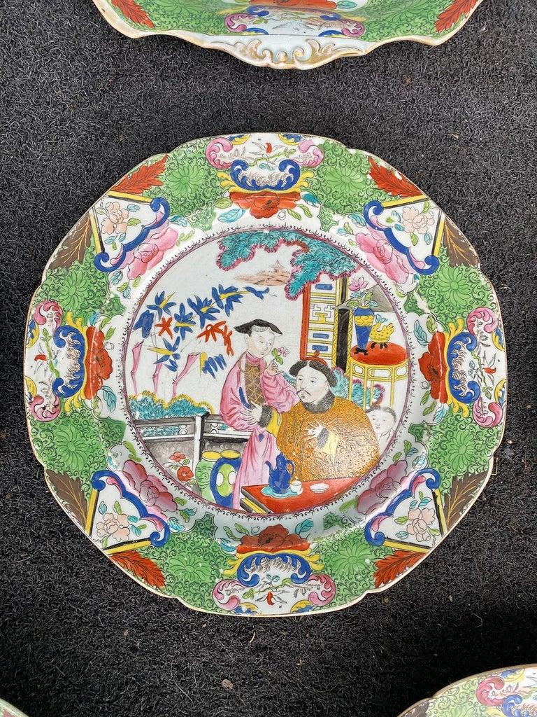 Set of 8 Early 19th Century English Mason's Enameled Ironstone China in Mandarin 8